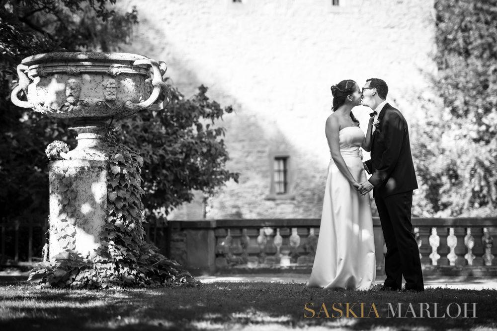 September Hochzeitsfotografin Rheingau Hochzeits Fotos Schloss Vollrads